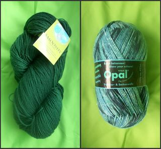 New sock wool