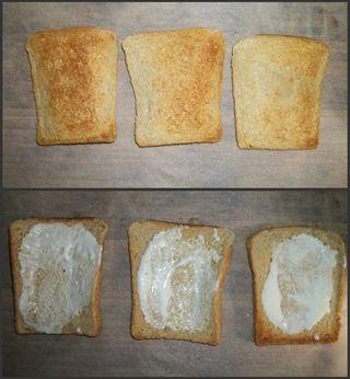 Toast and mayo