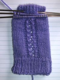 Lace Miserables socks started