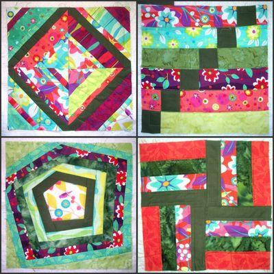 Quilt as I go BOM 2012