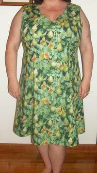 Pear dress 1
