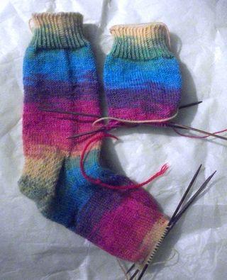 Boo socks continue