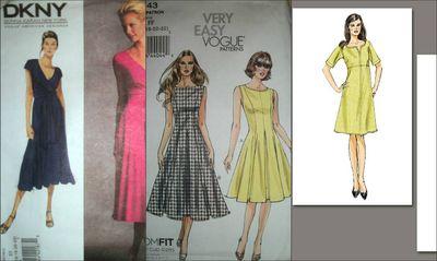 My new dress patterns