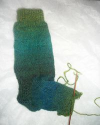 Sock with no name and no needles