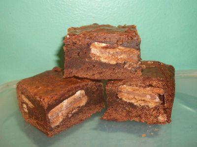 Timtam brownie