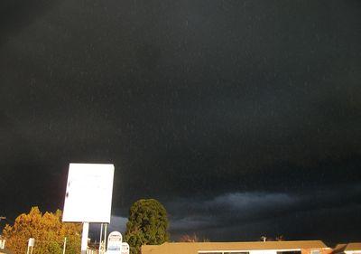 Dark skies, not the tv show