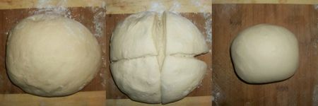 One pizza of dough