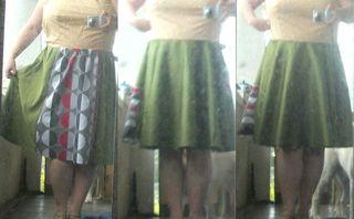 Dress toile times 2