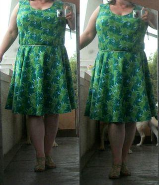 I love my new dress