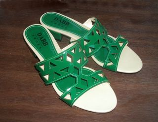 Emerald slippers