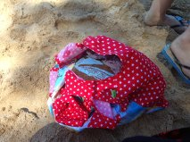 Swimming bag now