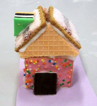 Un gingerbread house