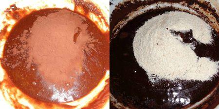 Cocoa salt flour