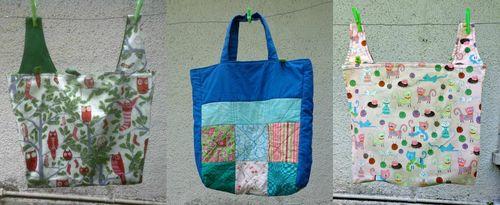 Bags I've sewn
