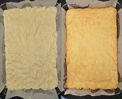 Baking the base