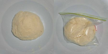 Knead and rest