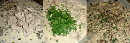 Chicken and parsley