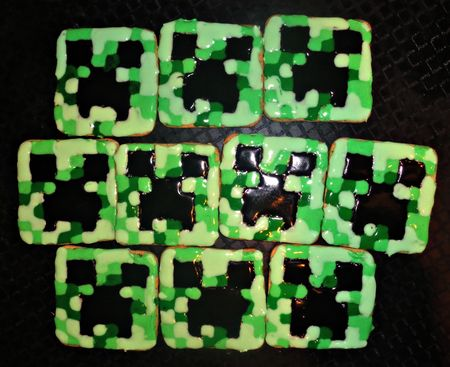 Creeper biscuits