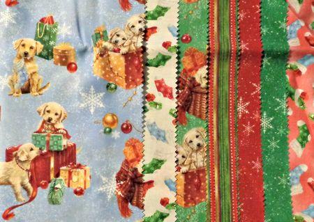 Labrador christmas material