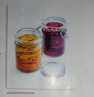 Pickled beetroot