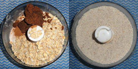 Floury oaty meal