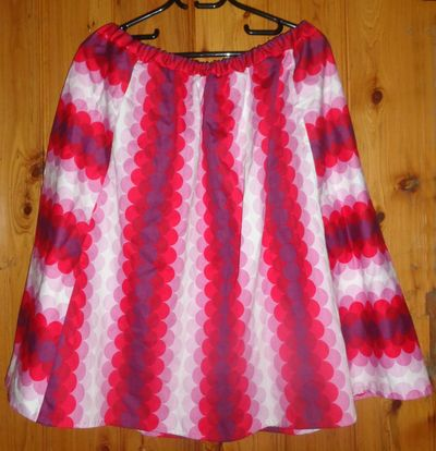Second skirt