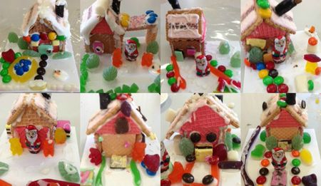 More Ungingerbread Houses