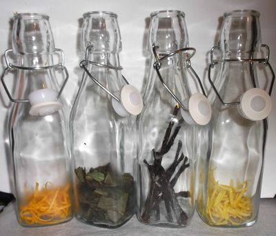 Add flavours to bottles