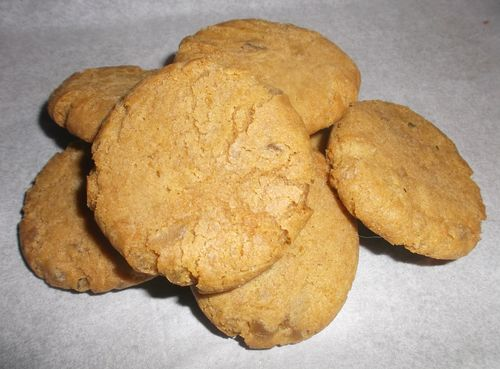 Plain ginger biscuits