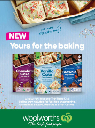 New traybake kits