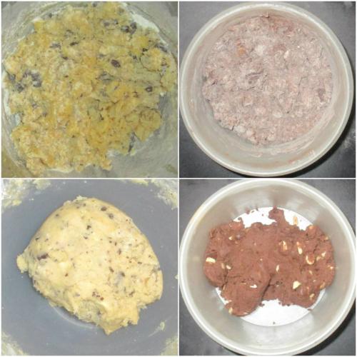 Mix to a dough