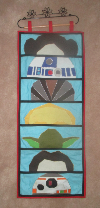 Star wars wall hanging