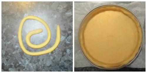 Edge pastry
