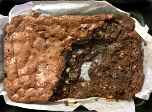 Hedy ate brownie