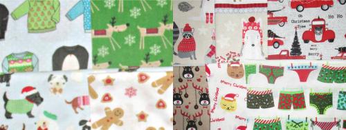 Ten christmas shopping half bags