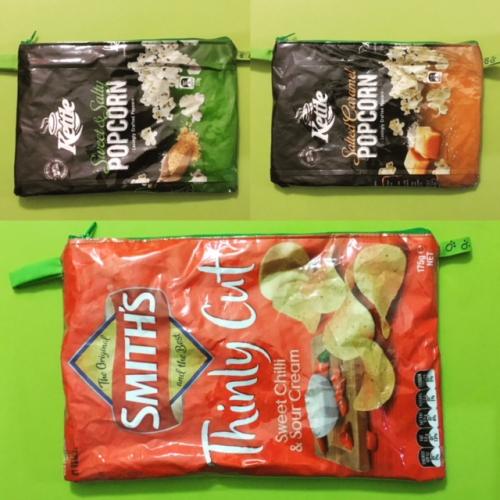 Zippy chip bags