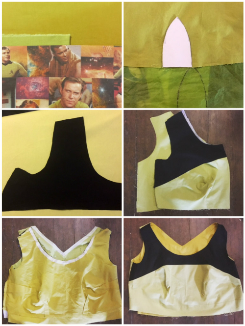 Captain kirk dress making