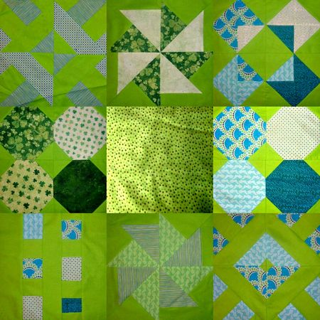 Quilting  BOM catch up