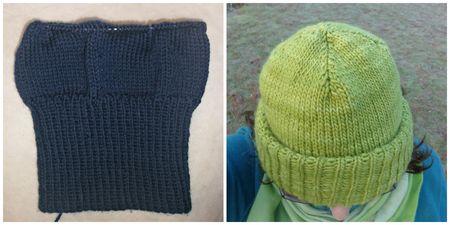 Knitting my mum a hat