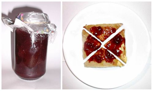 Really fresh jam on toast