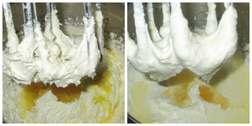 Add lemon add gelatine