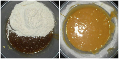 Batter and flour