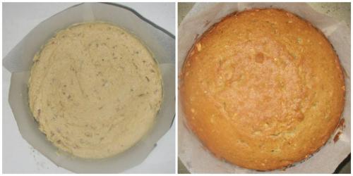 And bake