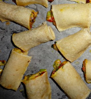 Bacon rolly uppy things