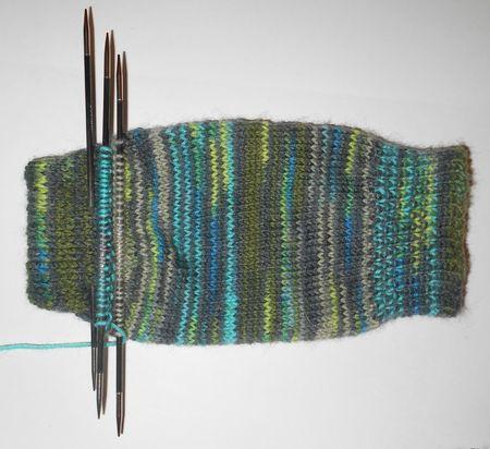 New un named second sock