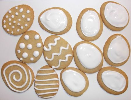A variety of icing