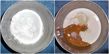 Flour sugar pb