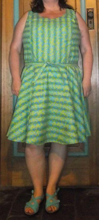 Seersucker dress 2015