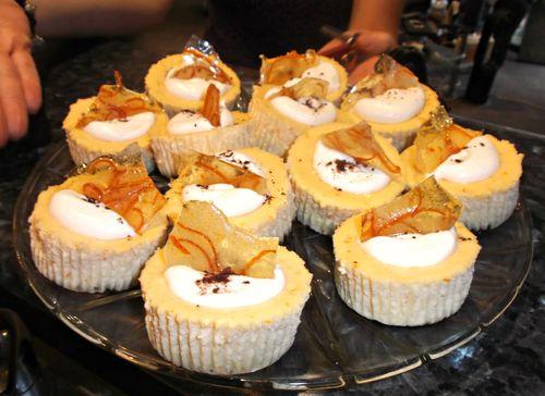 Jaffa cheesecakes