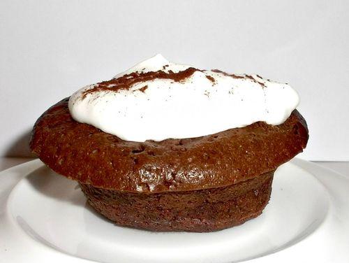 Brownie cakelet